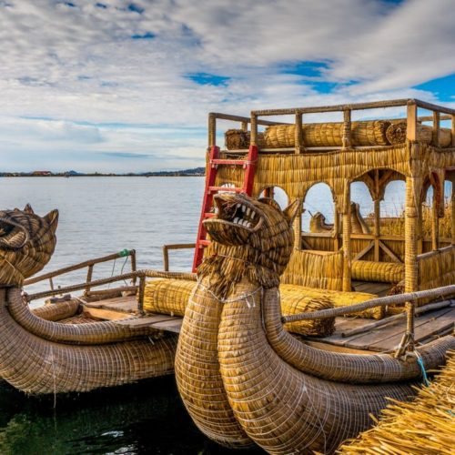 Peru - Lake Titicaca by Boat