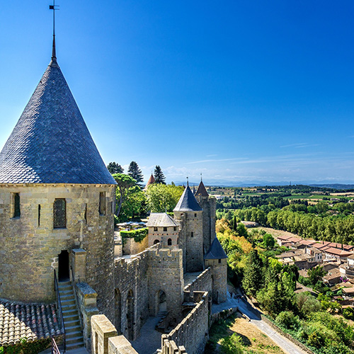 Carcassonne, France Chateau Comtal