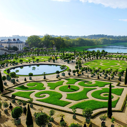 France - Paris - Versailles Gardens