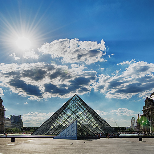 Paris - Louvre Morning