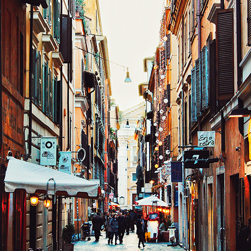 Italy-Rome-downtown