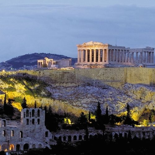 Greece-and-Italy-for-Latin-students-Acropolis-sunset