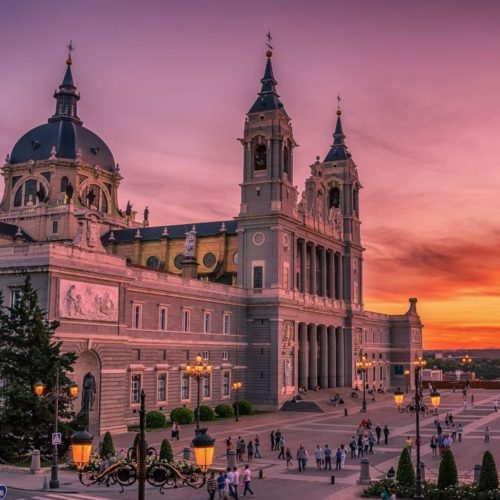 Spain-Madrid--Exchange-partnership-sister-school-Cathedral-of-Saint-Mary